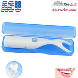 1pc Dental Floss Holder Oral Care Flosser Aid Pick Teeth Cle