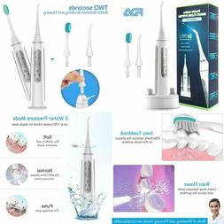 2-In-1 Portable Water Flosser And Sonic Electric Toothbrush