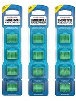 3 Listerine Flosser Refills Mint Flavor 28 Count Dental Oral