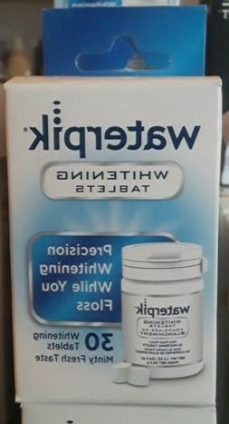 30 count whitening water flosser refill tablets