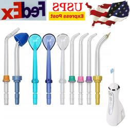 9pcs Water Flosser Replacement Tips and Accessories for Wate