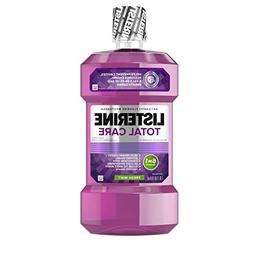 Listerine, Total Care Anticavity Fluoride Rinse, Fresh Mint,
