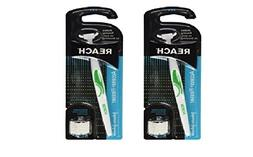 Reach Access Flosser Starter Pack, Disposable Snap-on Heads