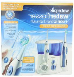 New Waterpik WP-900 Ultra Water Flosser and + Sonic  Care To