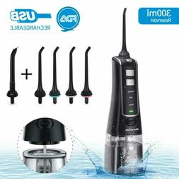 water flosser professional cordless oral irrigator rechargea