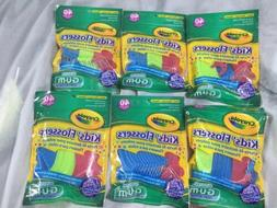 GUM Crayola Kids' Flossers 40 Each  Fluoride Coated Floss-GR