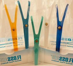 1 FLOSSAID DENTAL FLOSS HOLDER FLOSSER HANDLE $1.50 EACH & $