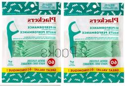 Plackers Dental Floss Tooth Picks Flossers Mint Flavor 60 Co
