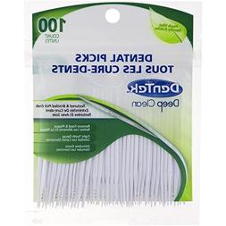 DenTek Deep Clean Dental Picks  Fresh Mint, 100-Count per pa
