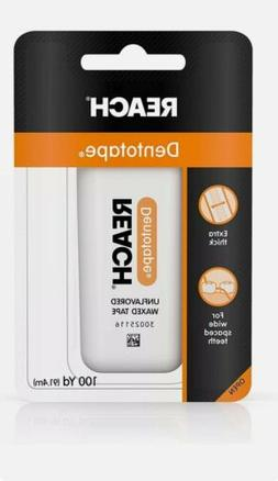 Reach Dentotape Waxed Floss, Unflavored 100 yd