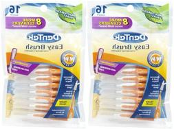 DenTek Easy Brush - 16 ct - 2 pk