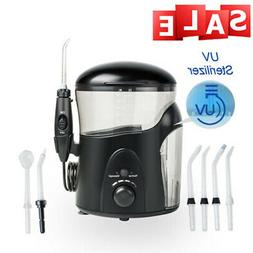 Electric Dental Water Flosser With UV Sanitizer Oral Irrigat