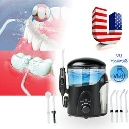 Electric Dental Water Jet Pick Flosser Teeth Cleaning+UV San