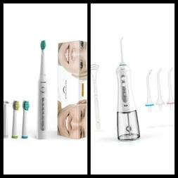 iTeknic Cordless Water Flosser andElectric Toothbrush, Son