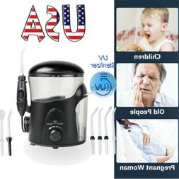 Electric Water Flosser Oral Irrigator with UV Sterilizer Tee