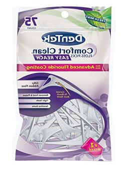 DenTek Easy Angle Floss Picks-Fresh Mint-75 ct