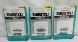 LISTERINE Formerly REACH Floss - Cool Mint Pack of 3