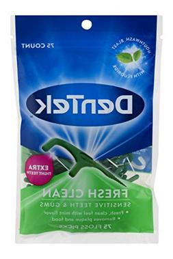 DenTek Fresh Clean Floss Picks | Silky Comfort Floss to Remo