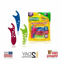 Gum Crayola Kids' Flossers, Grape, Fluoride Coated, Ages 3+,