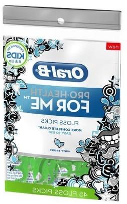 Oral B Pro-Health For Me Floss Picks - Minty Breeze - 45 ct