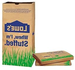 30 Gallon Heavy Duty Natural Brown Lawn Leaf Outdoor Paper T
