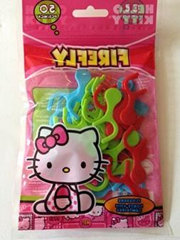 50 PCS Hello Kitty Firefly Teeth Floss Flossers Flossing Is