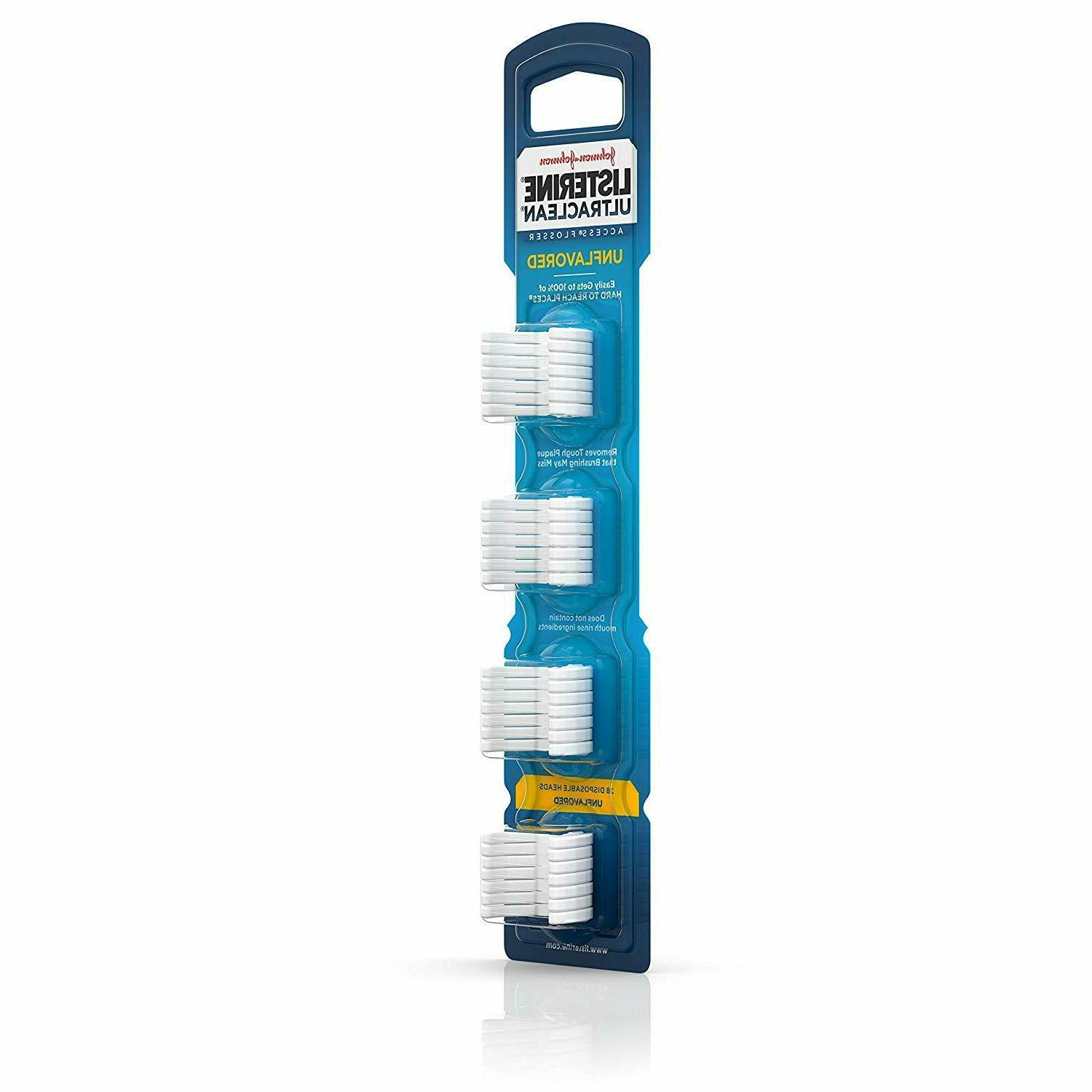 Listerine Snap-On Flosser Refill Unflavored