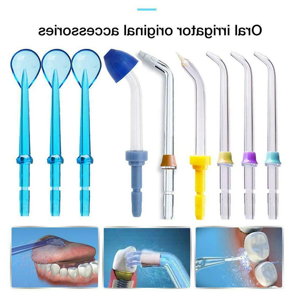 9pcs shower accessories for water flosser oral