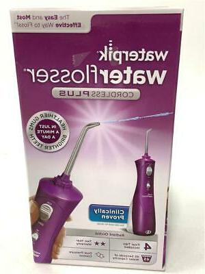 cordless water flosser rechargeable portable wp 565