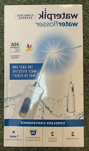dental water flosser cordless express wf 02w011