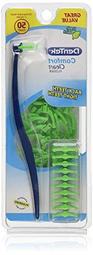 DenTek Comfort Clean Flosser, Cool Mint, 50 ct.