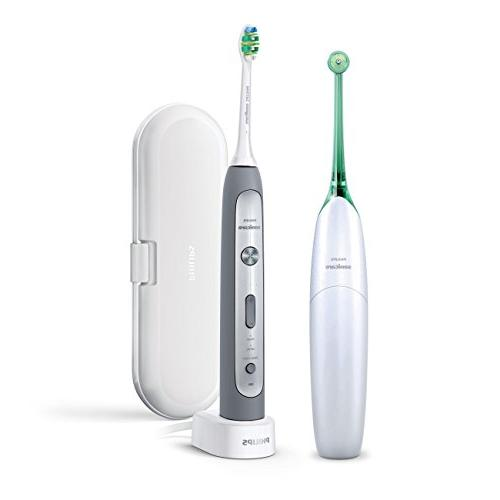 flexcare platinum rechargeable toothbrush airfloss