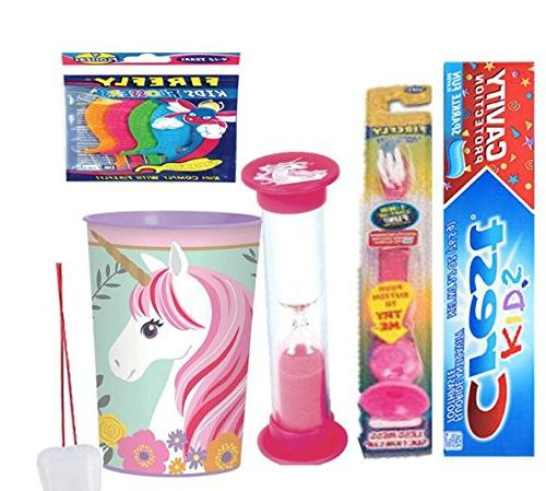 magical unicorn inspired smile oral care bundle