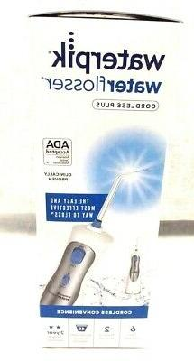 new cordless plus water flosser wp 460w