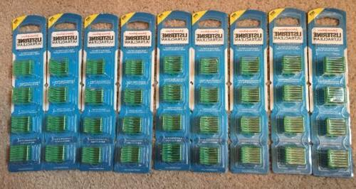 new listerine ultraclean reach access flosser refills