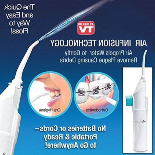 Oral Jet Power Floss Air Power SPA Cleaner
