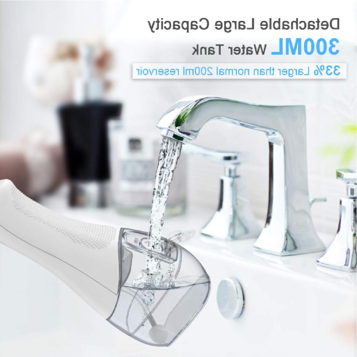 Portable Water Flosser 300ML 5 5 IPX7