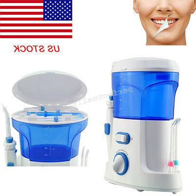 us stock water jet dental teeth flosser