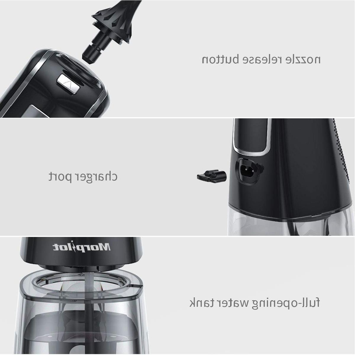 Water Flosser Cordless 5 Tips, Modes, 300ML,