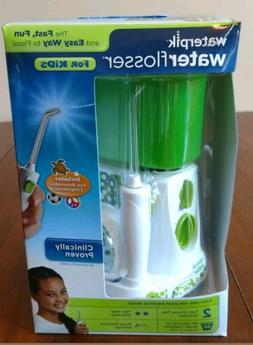 NEW Waterpik Water Flosser For Kids, WP-260W for braces chil