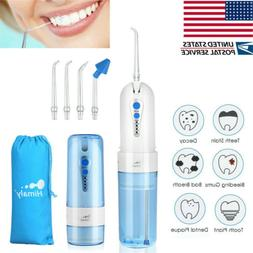 Portable Oral Irrigator Water Flosser Dental Electric Floss