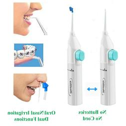 Portable Water Flosser Manual Oral Irrigator With Nasal Wash