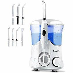 QQcute Water Dental Flosser For Teeth Clean Portable, With 7