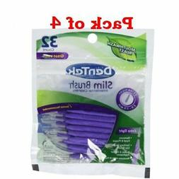 Dentek Dentek Slim Brush Cleaners, 32 each
