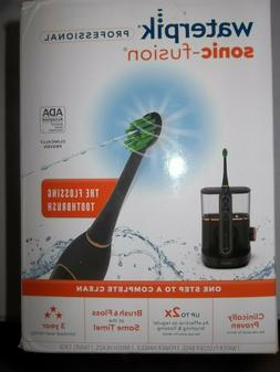 sonic fusion flossing toothbrush and water flosser