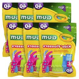 Sunstar 10070942303108 Gum Crayola Kids' Flosser, Grape Flav