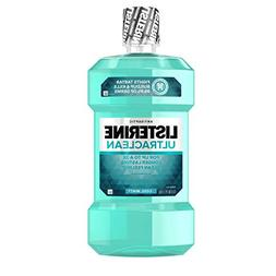 Listerine Ultra Clean Cool Mint Mouthwash, 50.7 Ounce