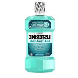 Listerine Ultraclean Oral Care Antiseptic Mouthwash with Eve