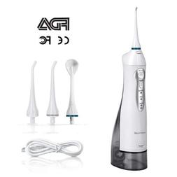 Water Flosser Cordless, Oral Irrigator USB Rechargeable, Mor