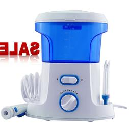 Water Flosser Teeth Cleaner Dental Water 600mL 7 Jet Tips Or